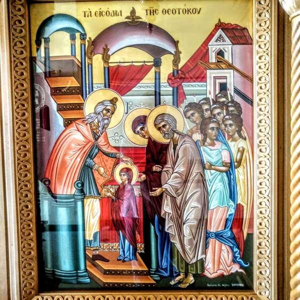 Présentation de Marie - cathédrale Saints-Archanges-Michel-et-Gabriel - Bruxelles