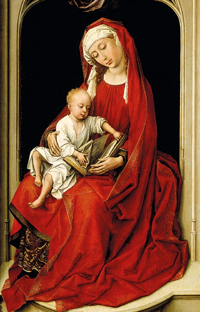 La Vierge en rouge - Roger van der Weyden - Prado Madrid