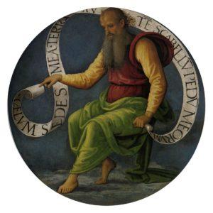 Le Prophète Isaie-Pietro Perugino