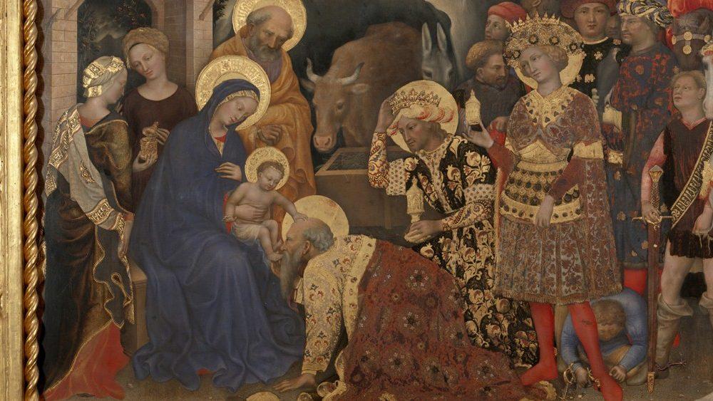 L'Adoration des Rois Mages de Gentile da Fabriano