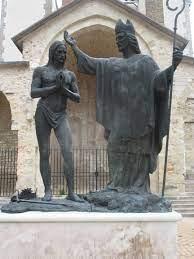 Saint Rémi baptisant Clovis