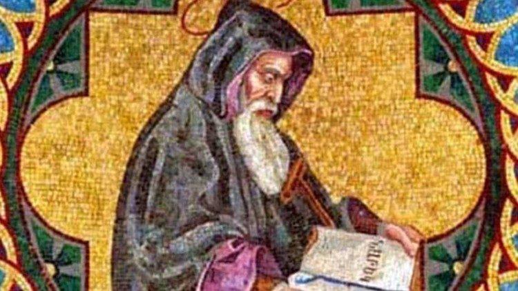 saint Grégoire de Narek - mosaïque