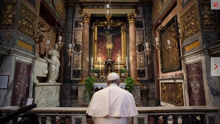 San Marcello al Corso - église du Crucifix miraculeux- Vatican News