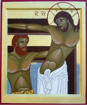Le Crist et le bon larron