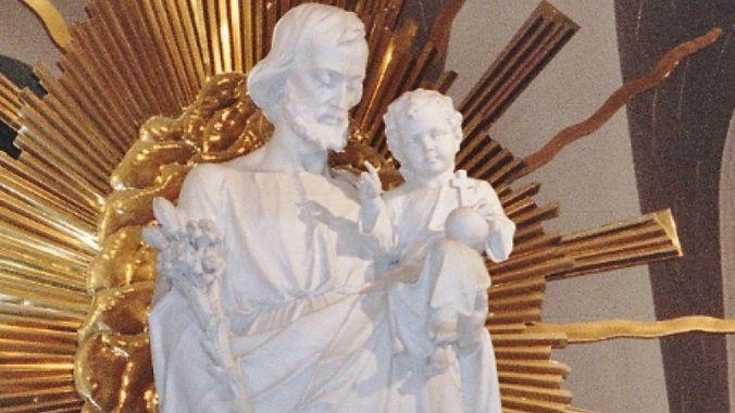 Statue de Saint Joseph - Oraoire Saint Joseph Montréal
