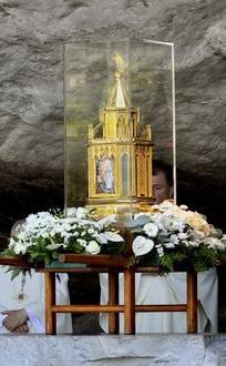 Les reliques de sainte Bernadette
