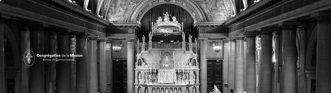 chapelle Saint Vincent de Paul et sa châsse reliquaire au centre