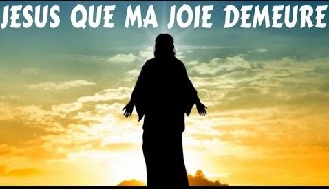 Jésus que ma joie demeure