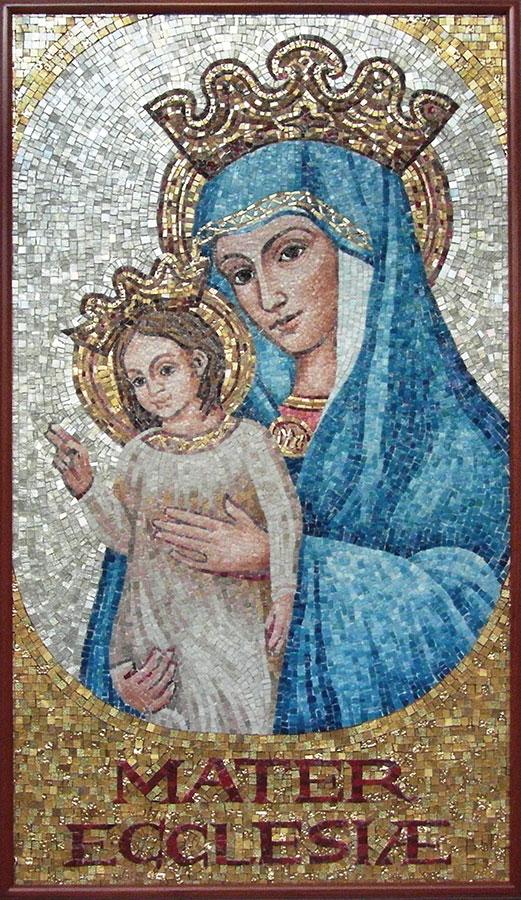 Marie, Mère de l'Église Basilique Saint Pierre