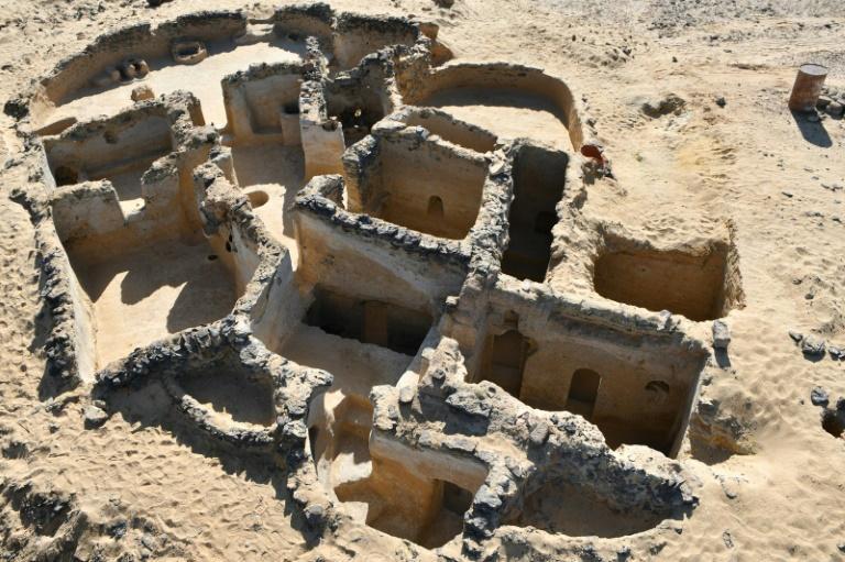 Le plus vieux monastère chrétien en Egypte à Qasr Al-Agouz dans l'oasis de Bahariya