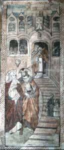 Présentation de Marie au Temple église de Saint Trond Limburg Belgique