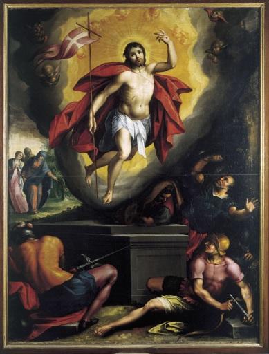 Richard Tassel (1580-1660) La Résurrection du Christ Beaune Collégiale Notre-Dame huile sur toile | DR